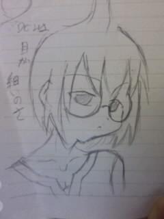授業中の落描き(オリ)