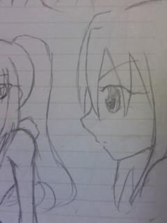 授業中の落描き(オリ)2